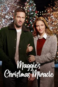 "Poster for the movie ""Karen Kingsbury's Maggie's Christmas Miracle"""