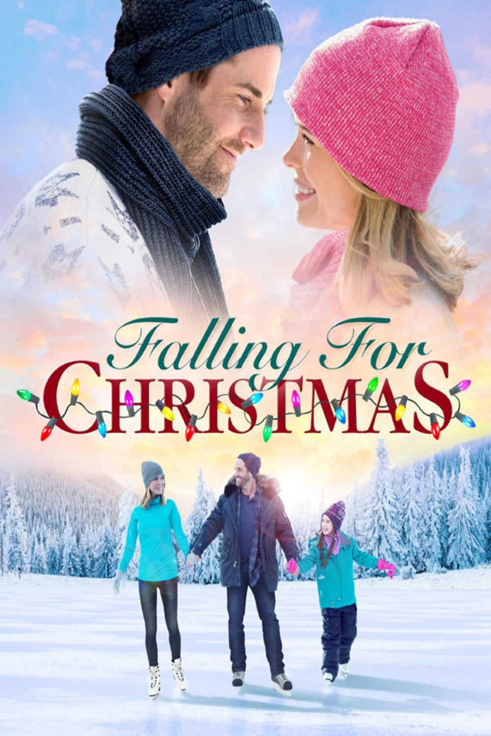 """Poster for the movie """"A Snow Capped Christmas"""""""