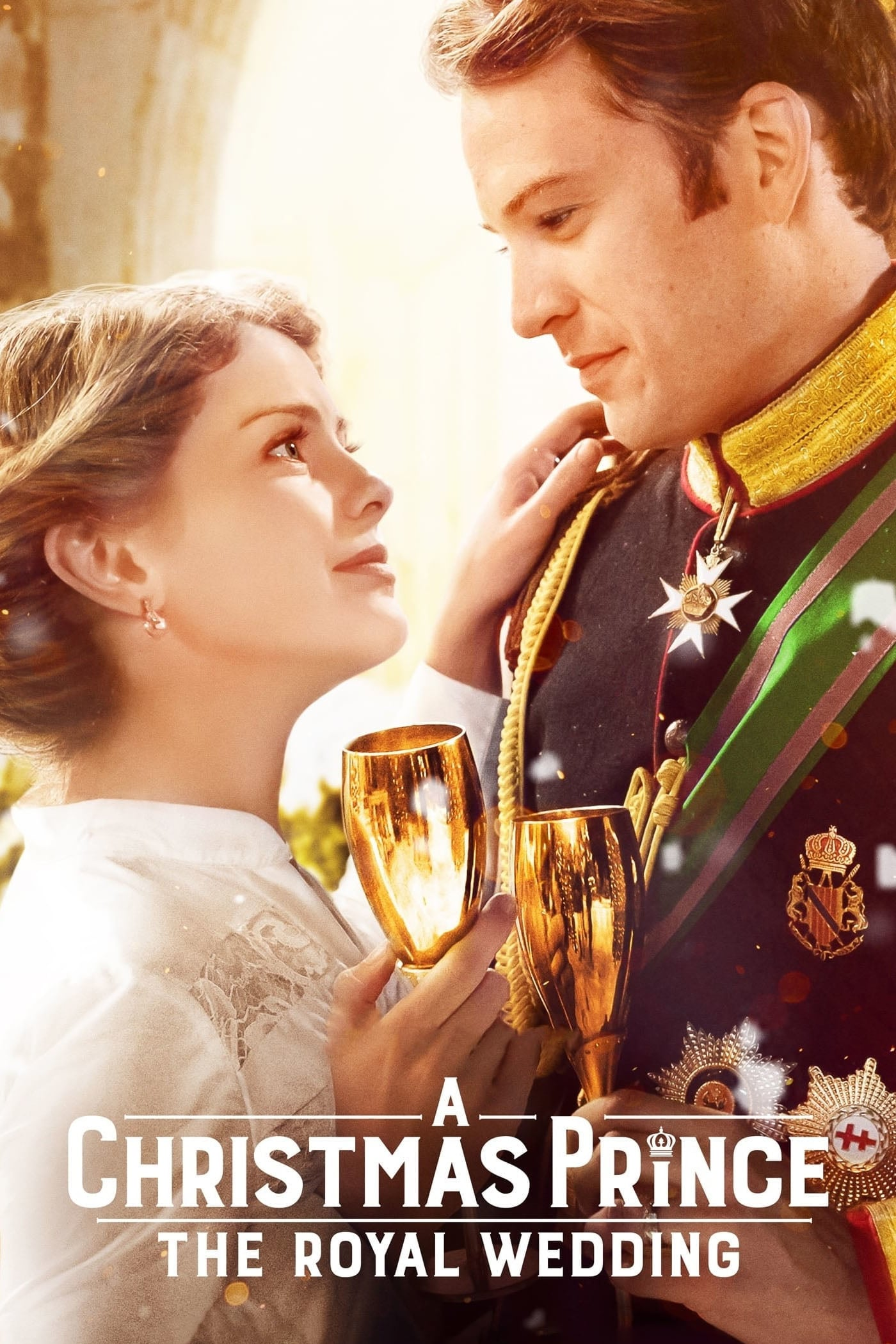 "Poster for the movie ""A Christmas Prince: The Royal Wedding"""