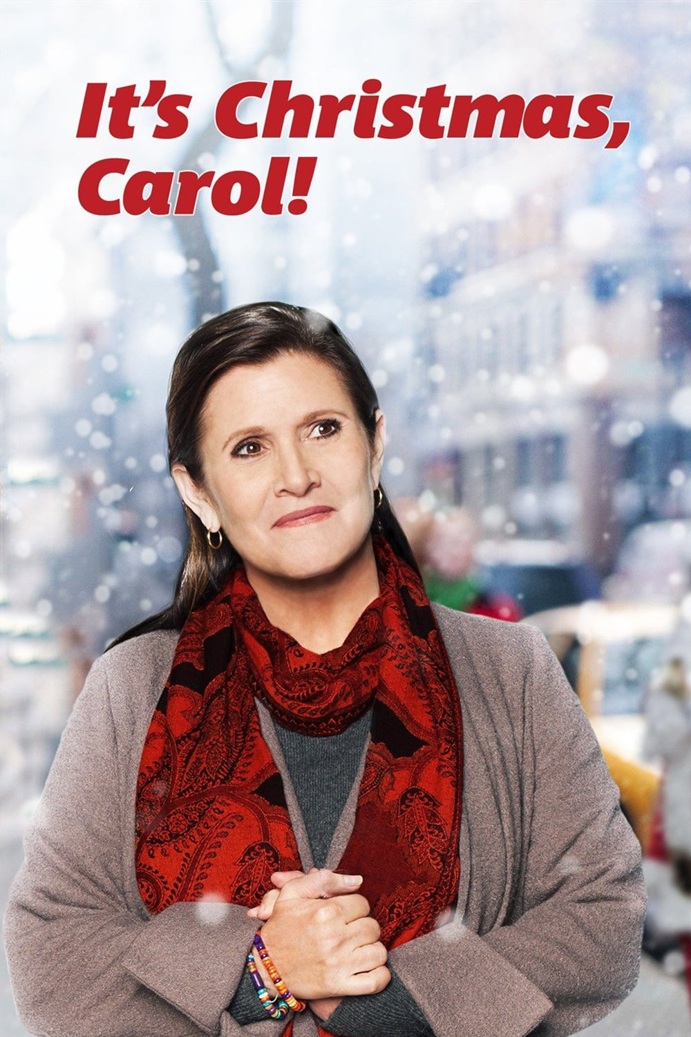 """Poster for the movie """"It's Christmas, Carol!"""""""