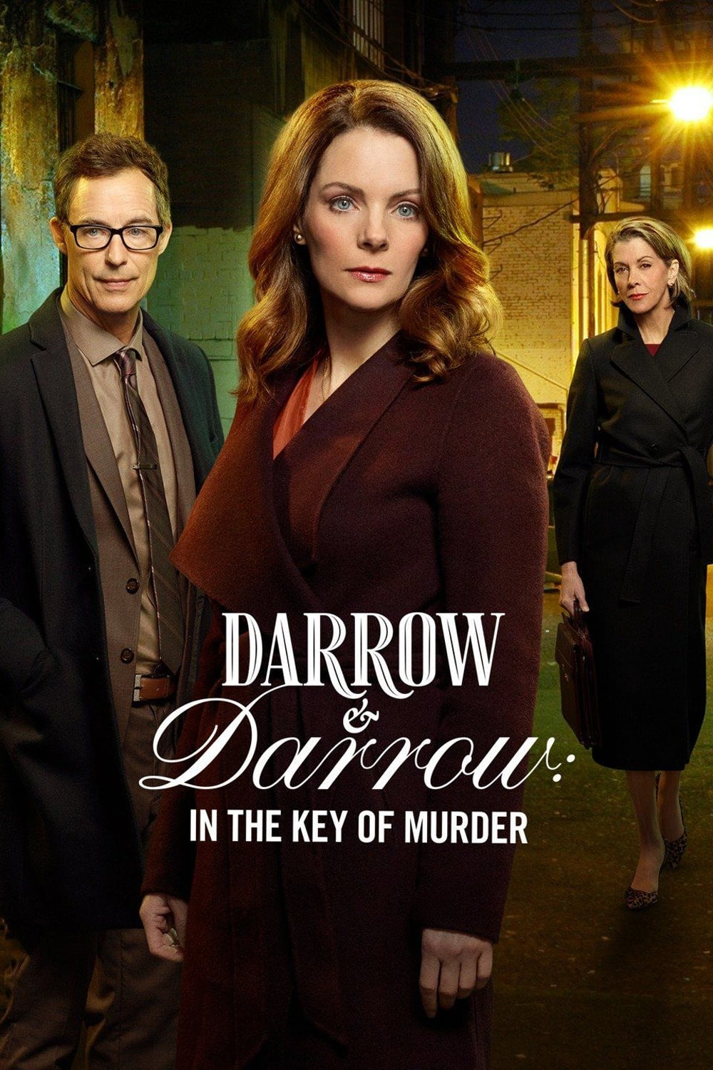 "Poster for the movie ""Darrow & Darrow: In The Key Of Murder"""