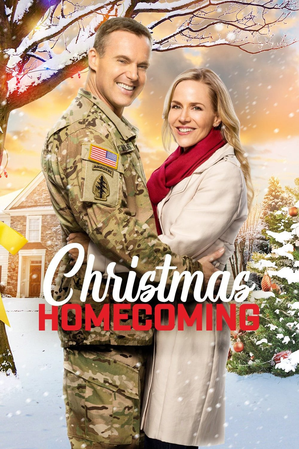 """Poster for the movie """"Christmas Homecoming"""""""