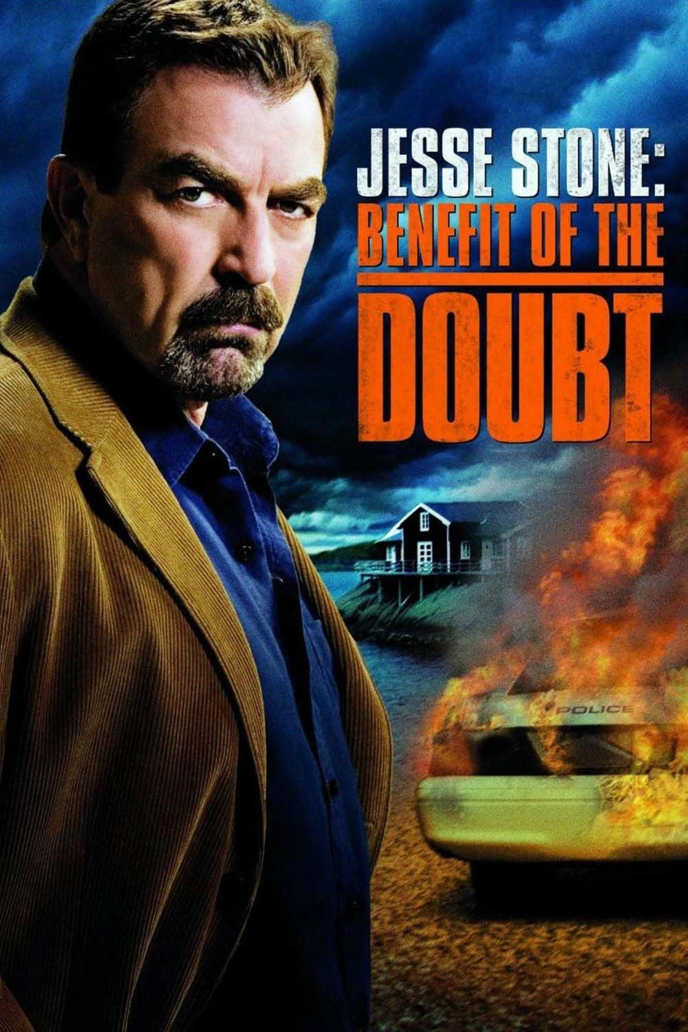 "Poster for the movie ""Jesse Stone: Benefit of the Doubt"""