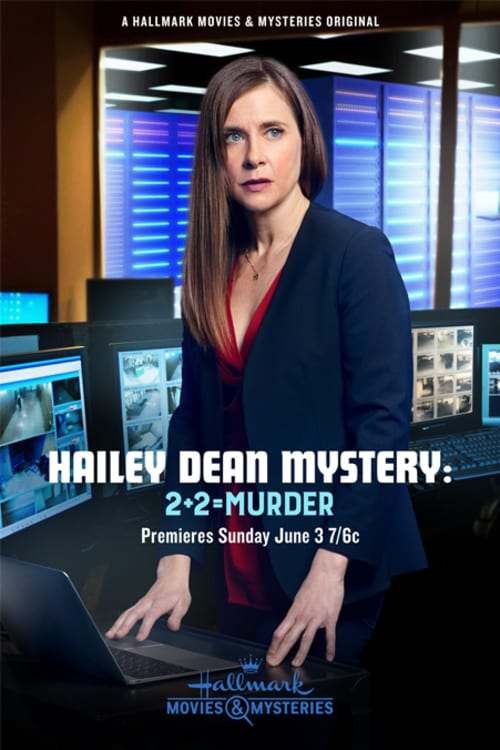 "Poster for the movie ""Hailey Dean Mystery: 2 + 2 = Murder"""