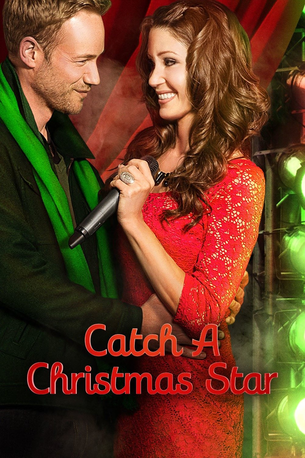 "Poster for the movie ""Catch a Christmas Star"""