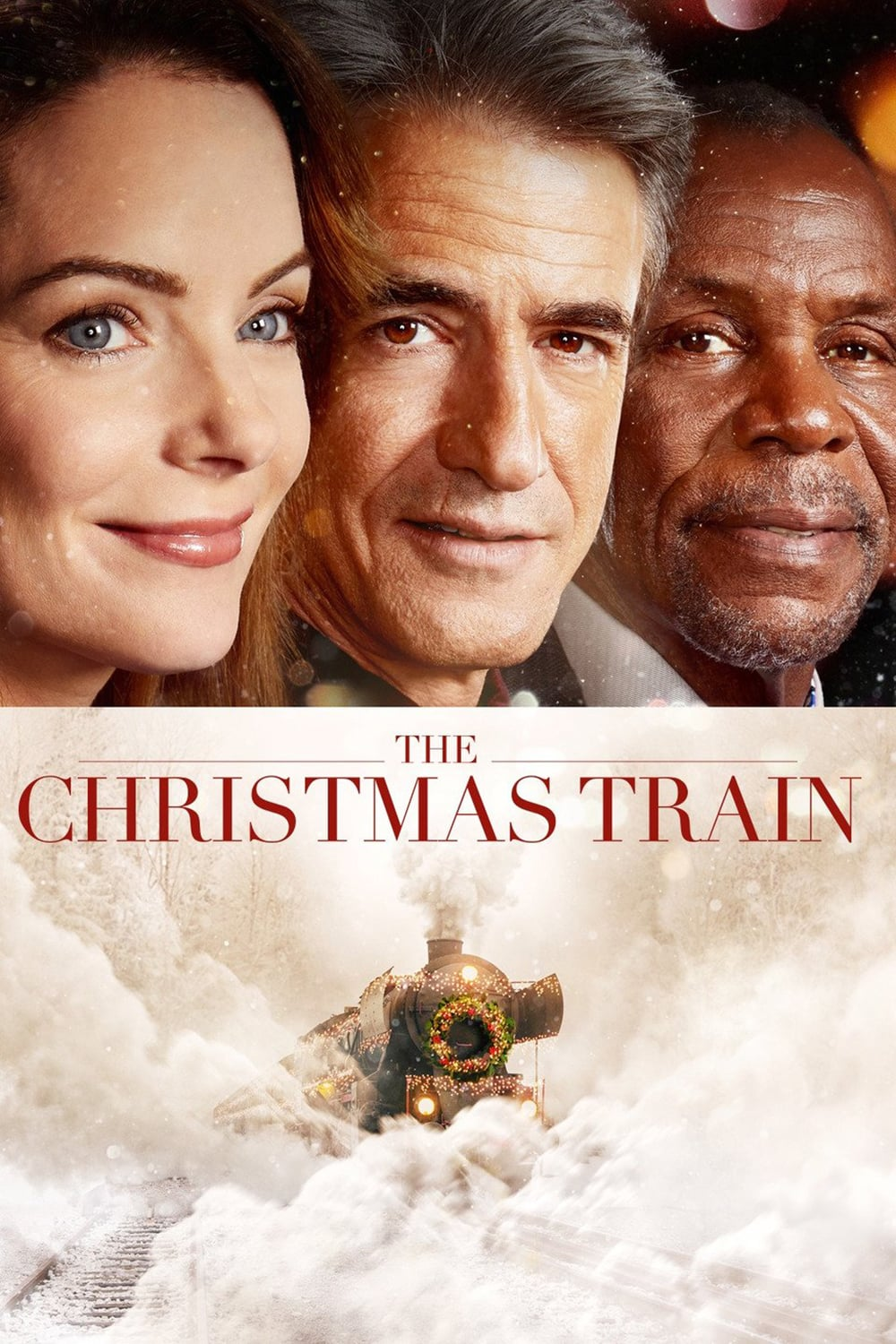 """Poster for the movie """"The Christmas Train"""""""
