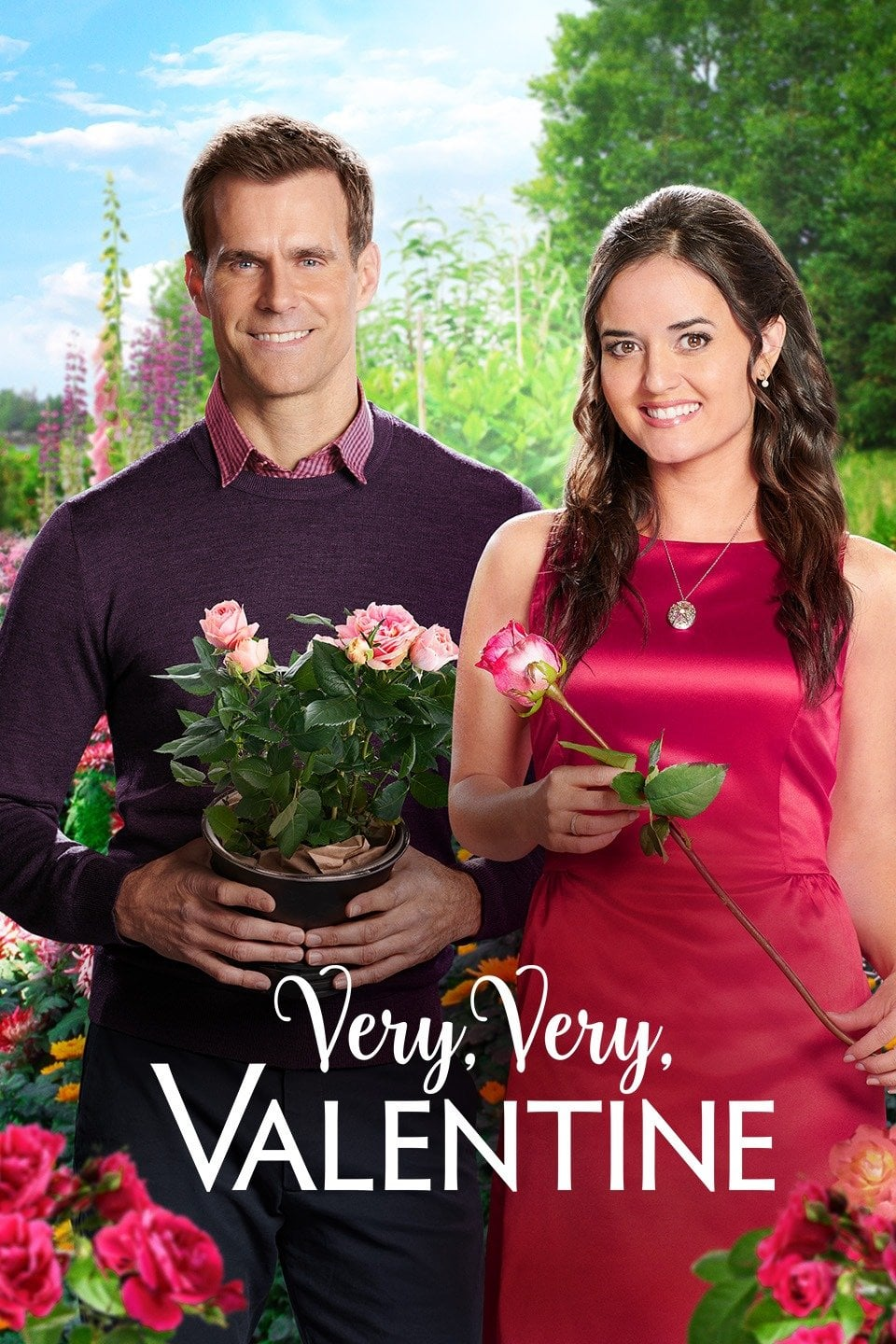 "Poster for the movie ""Very, Very, Valentine"""
