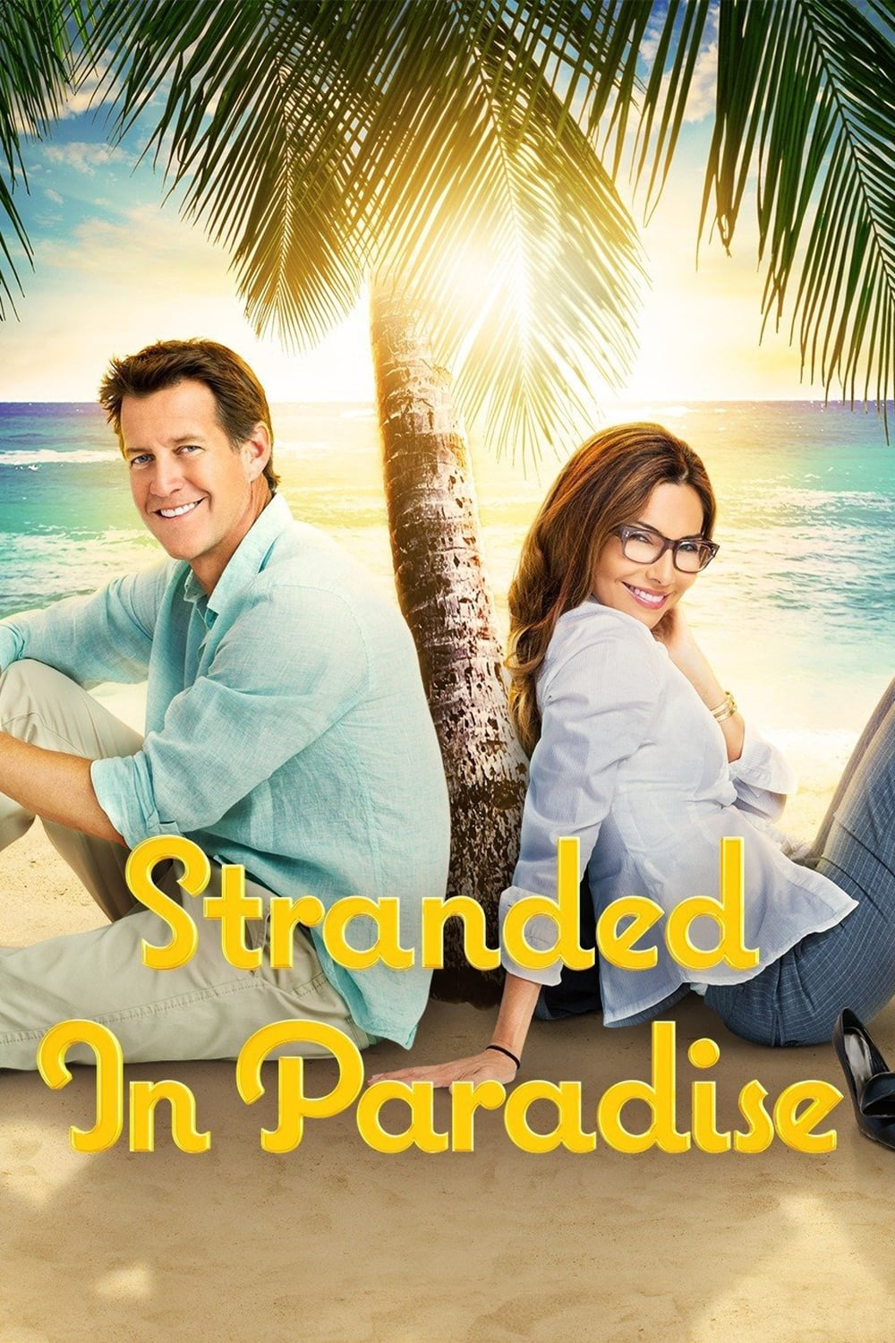 """Poster for the movie """"Stranded in Paradise"""""""