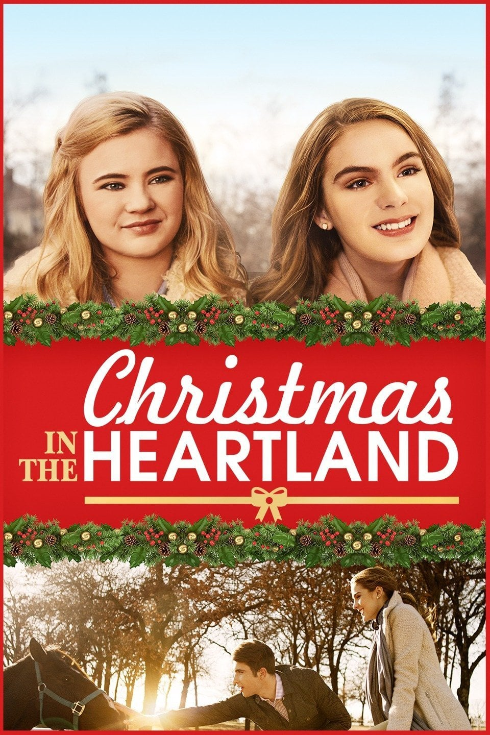 """Poster for the movie """"Christmas in the Heartland"""""""