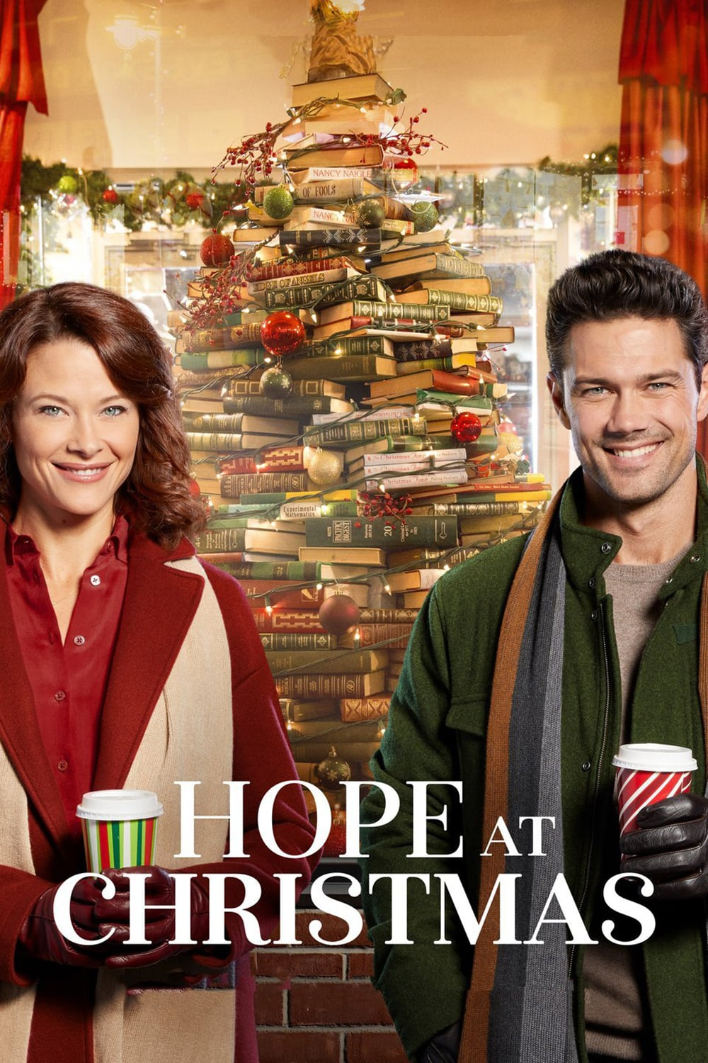 """Poster for the movie """"Hope at Christmas"""""""