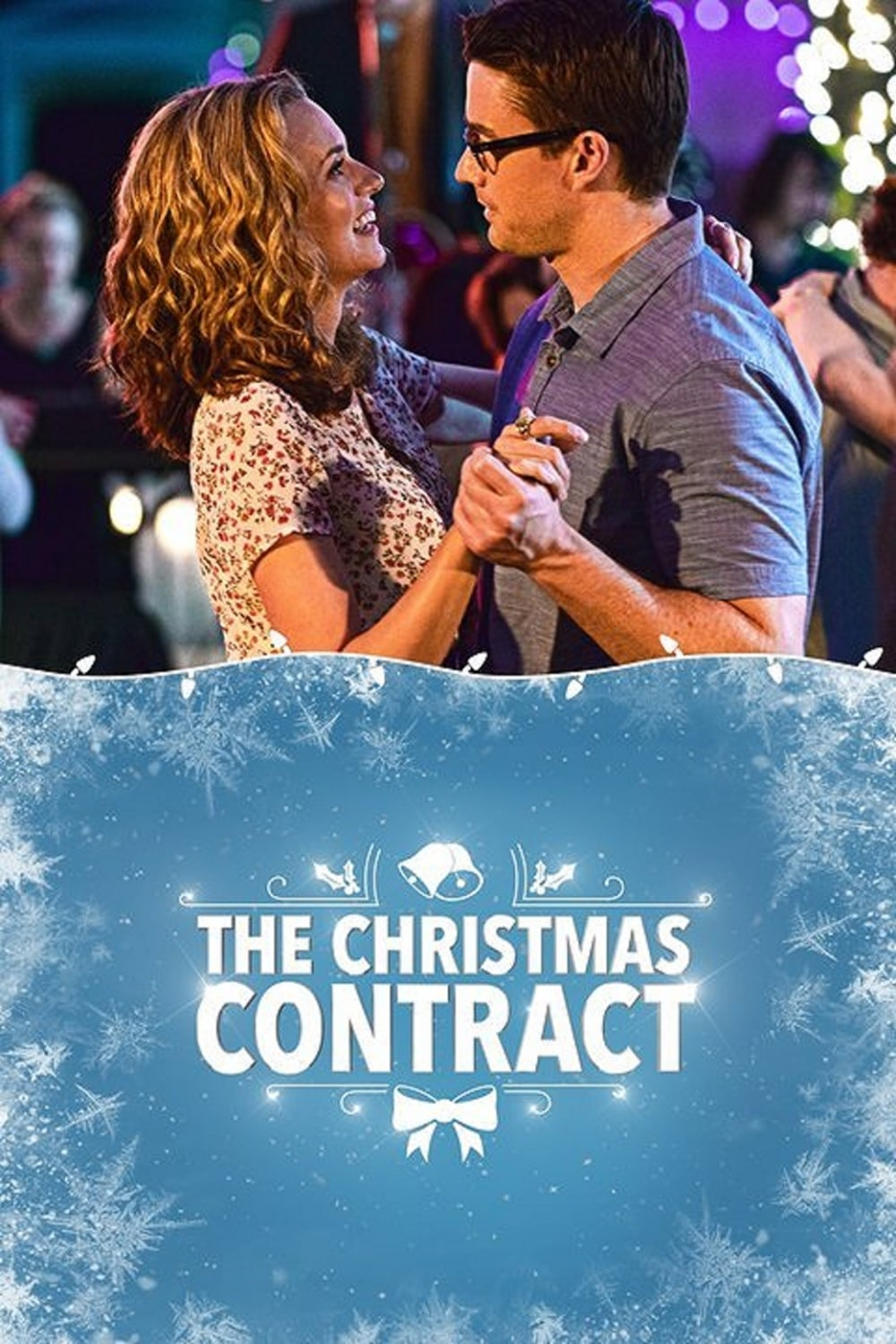 "Poster for the movie ""The Christmas Contract"""