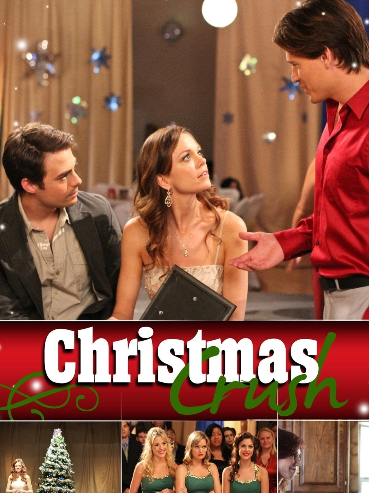 "Poster for the movie ""Christmas Crush"""