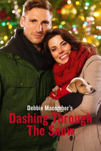 """Poster for the movie """"Dashing Through the Snow"""""""