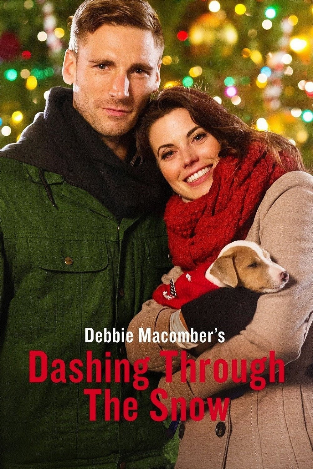 "Poster for the movie ""Dashing Through the Snow"""