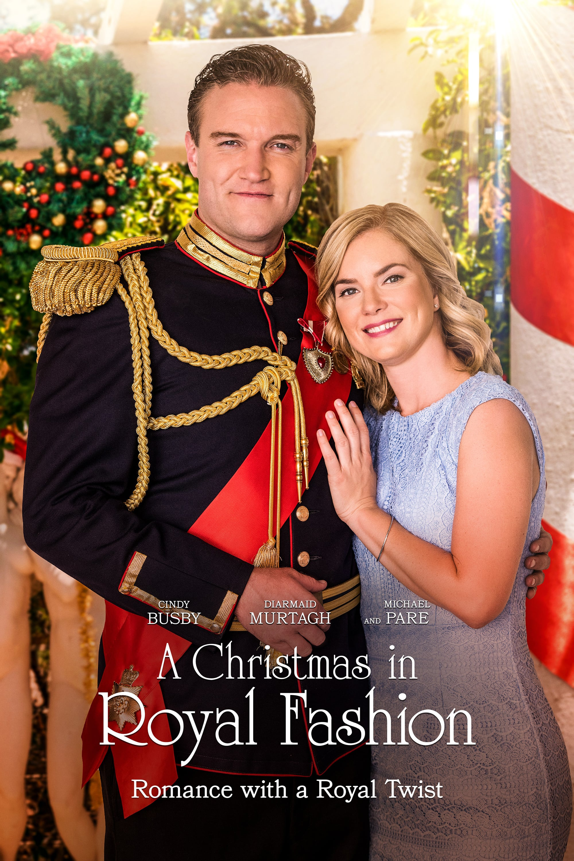 """Poster for the movie """"A Christmas in Royal Fashion"""""""