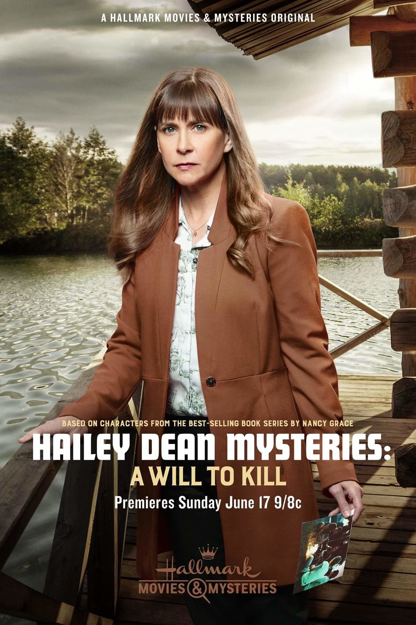"Poster for the movie ""Hailey Dean Mystery: A Will to Kill"""