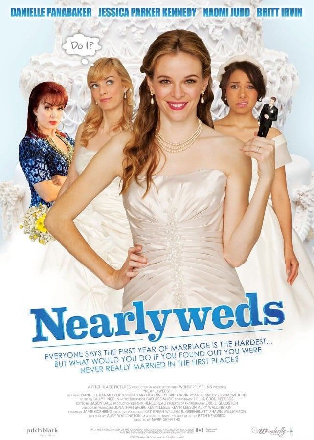 """Poster for the movie """"Nearlyweds"""""""