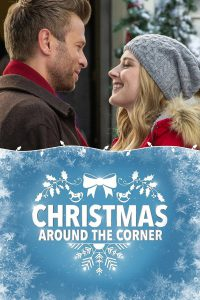 """Poster for the movie """"Christmas Around the Corner"""""""