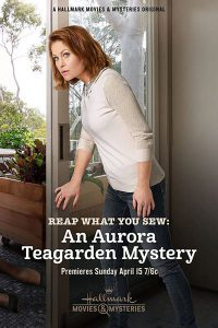 "Poster for the movie ""Reap What You Sew: An Aurora Teagarden Mystery"""