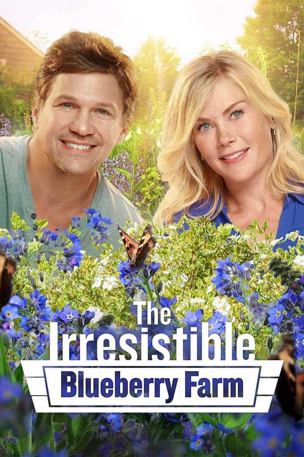 """Poster for the movie """"The Irresistible Blueberry Farm"""""""
