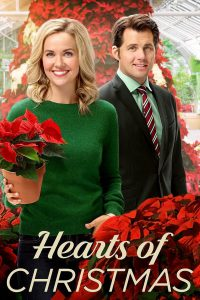 "Poster for the movie ""Hearts of Christmas"""