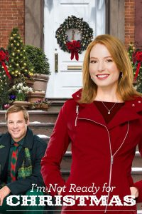 "Poster for the movie ""I'm Not Ready for Christmas"""