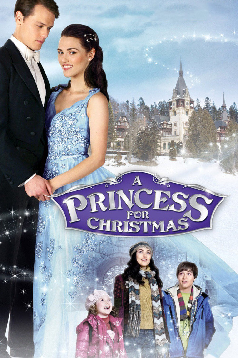 "Poster for the movie ""A Princess For Christmas"""