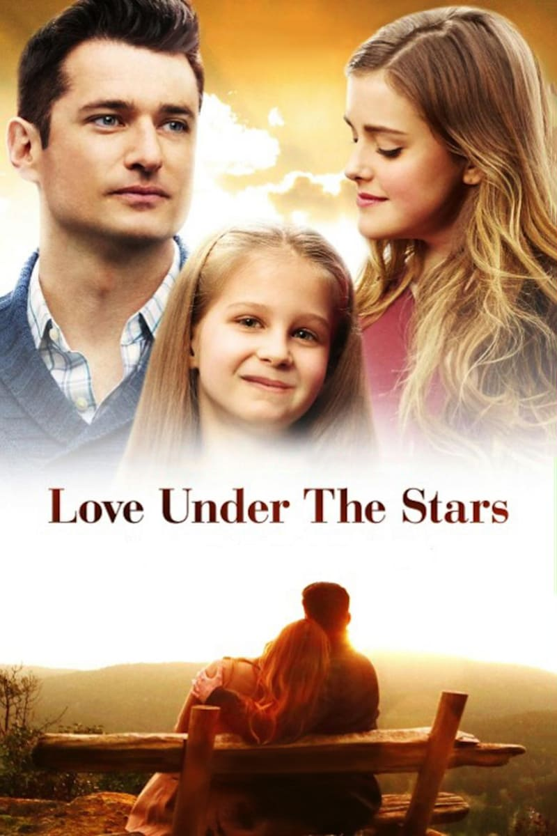 """Poster for the movie """"Love Under the Stars"""""""