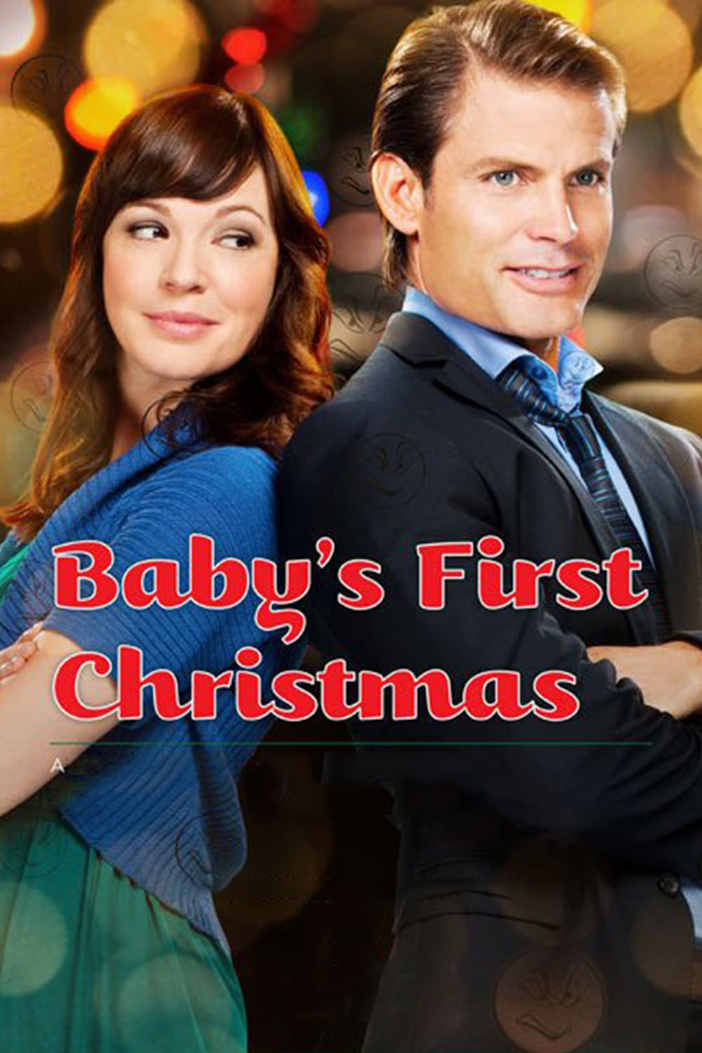 "Poster for the movie ""Baby's First Christmas"""