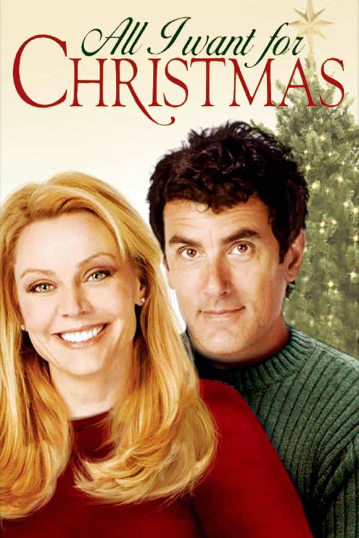 """Poster for the movie """"All I Want for Christmas"""""""