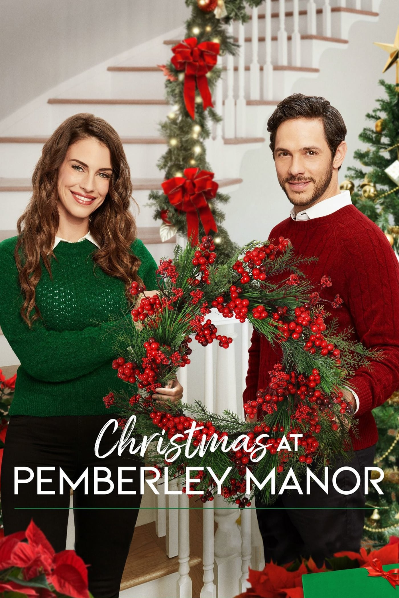 """Poster for the movie """"Christmas at Pemberley Manor"""""""