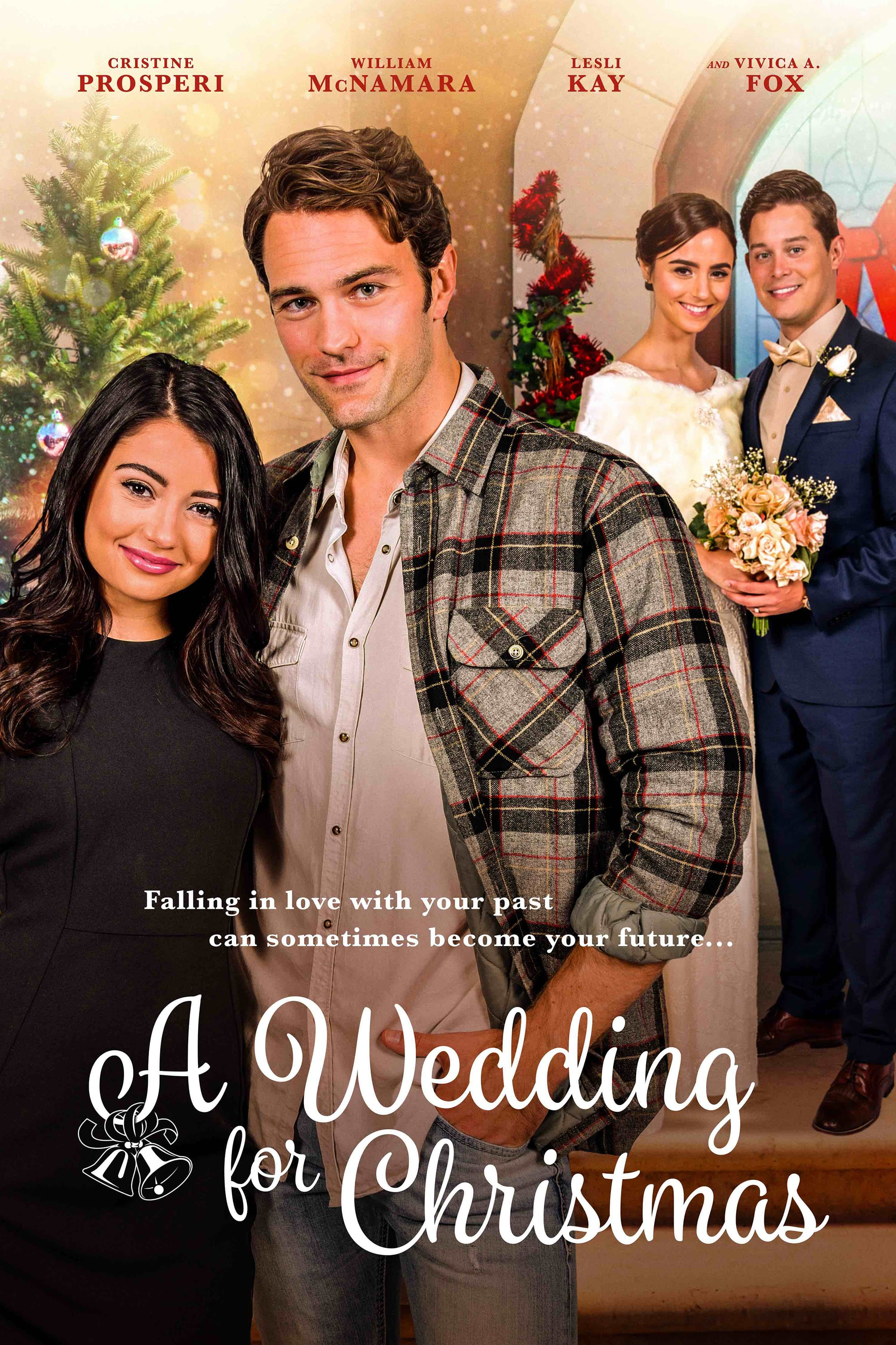 "Poster for the movie ""A Wedding for Christmas"""