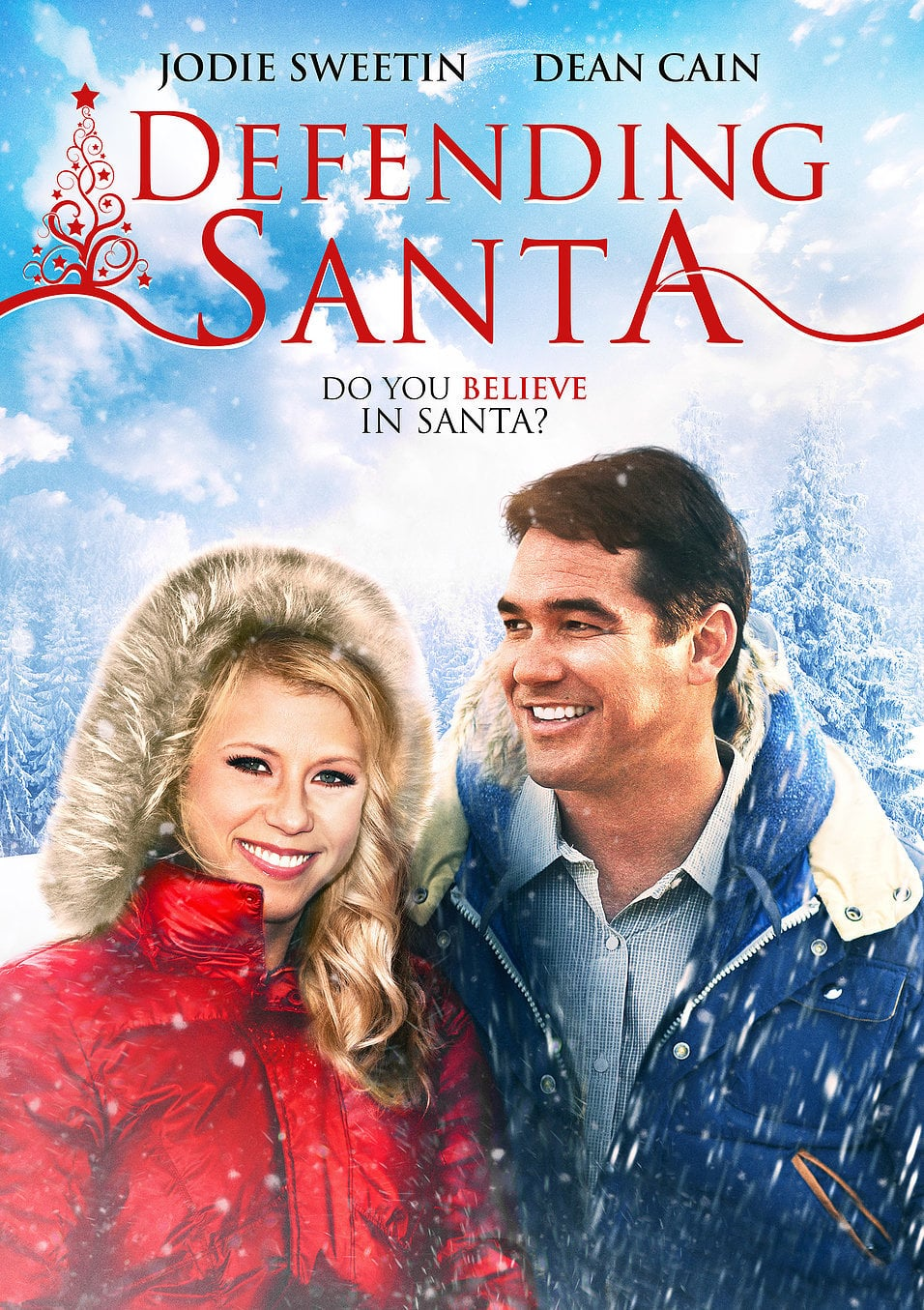 "Poster for the movie ""Defending Santa"""
