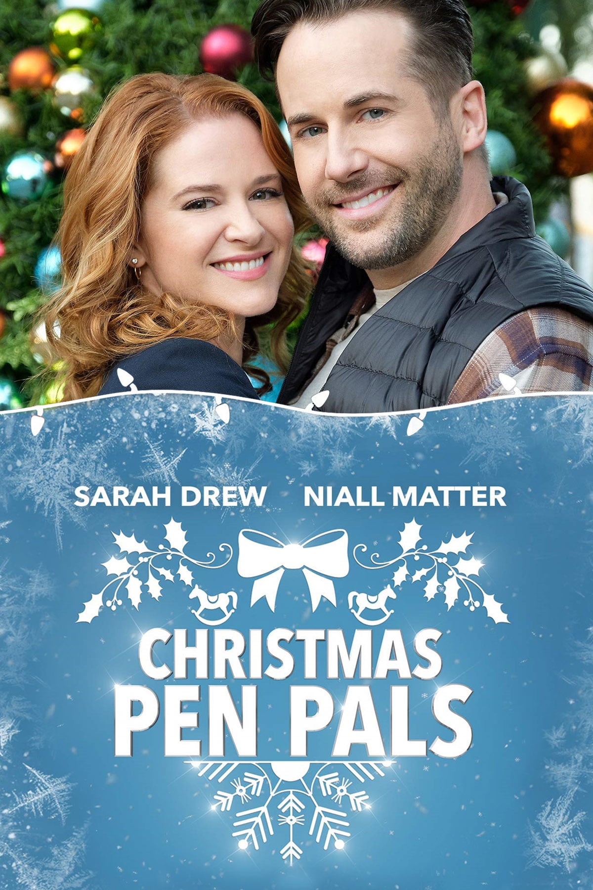 """Poster for the movie """"Christmas Pen Pals"""""""
