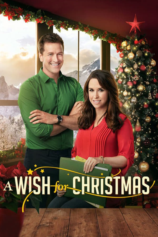 "Poster for the movie ""A Wish for Christmas"""