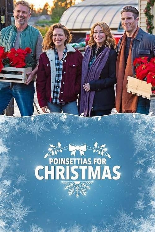 """Poster for the movie """"Poinsettias for Christmas"""""""