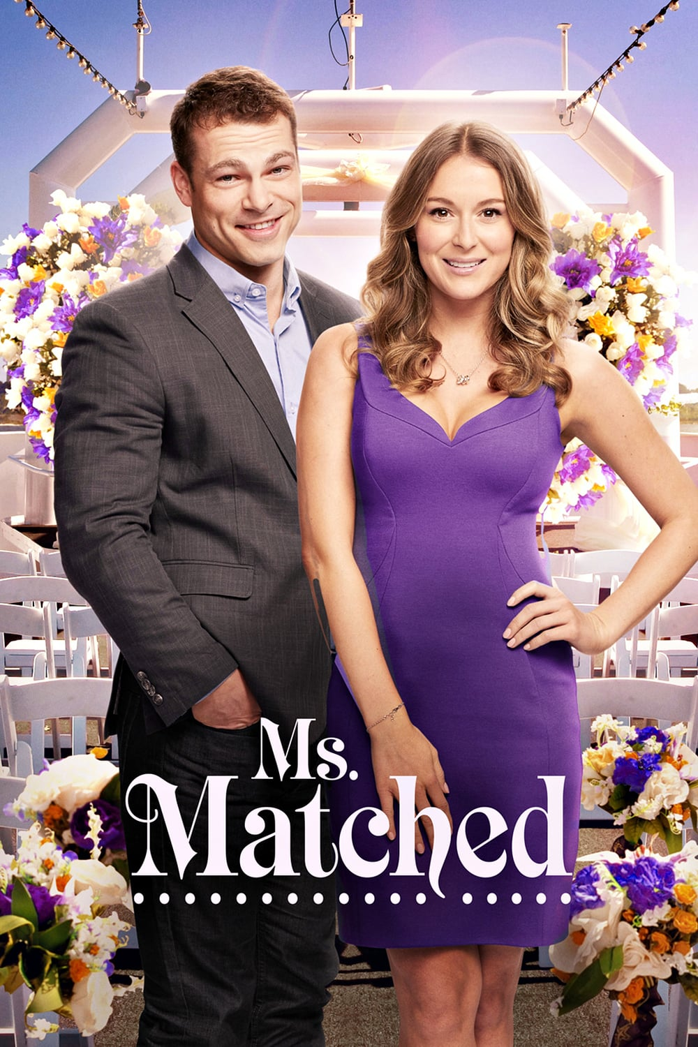 "Poster for the movie ""Ms. Matched"""