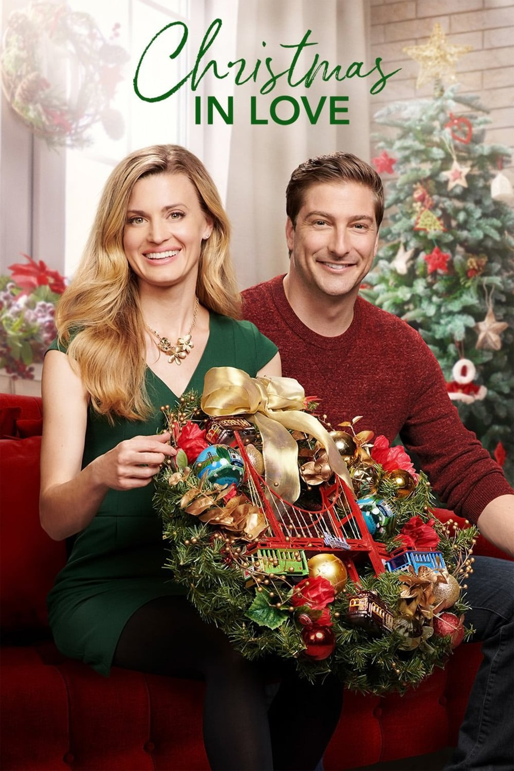 """Poster for the movie """"Christmas in Love"""""""