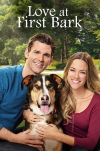 """Poster for the movie """"Love at First Bark"""""""
