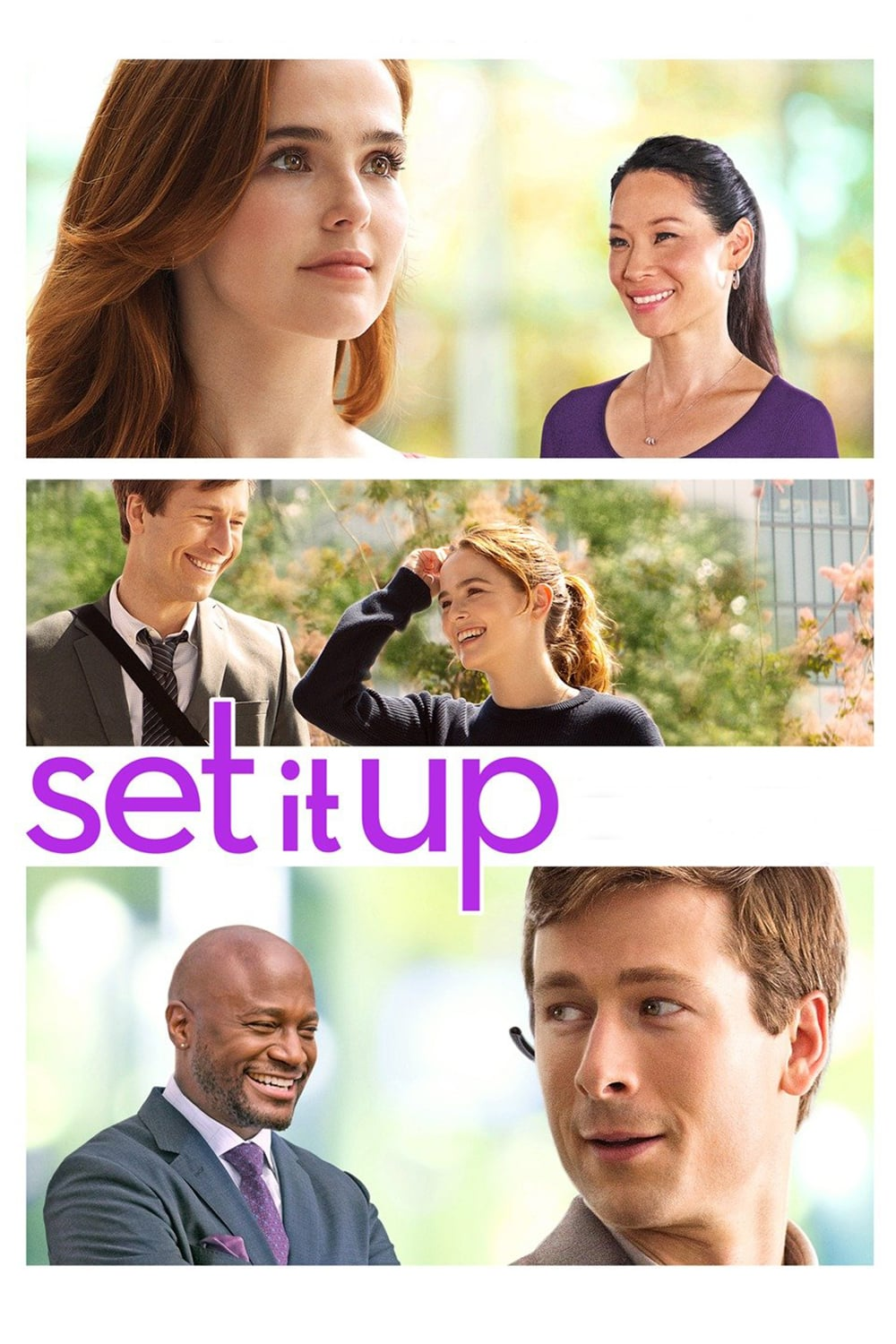 """Poster for the movie """"Set It Up"""""""