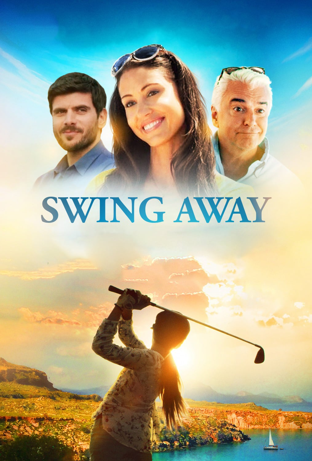 """Poster for the movie """"Swing Away"""""""