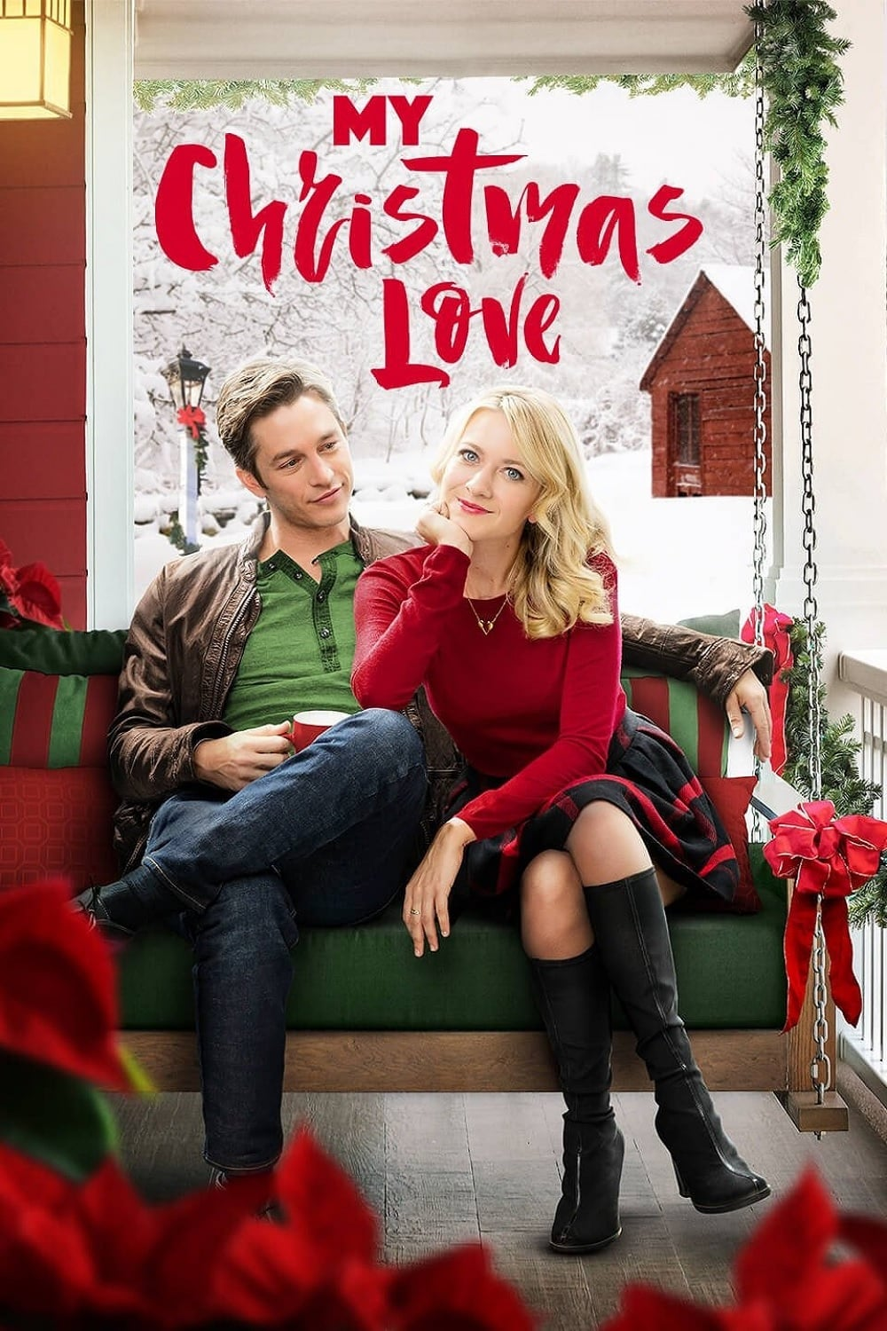 """Poster for the movie """"My Christmas Love"""""""