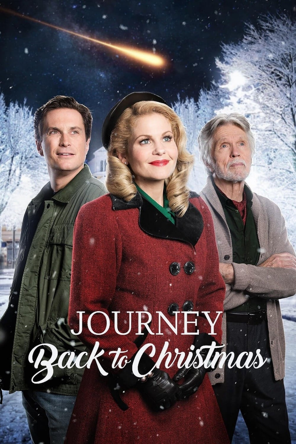 "Poster for the movie ""Journey Back to Christmas"""