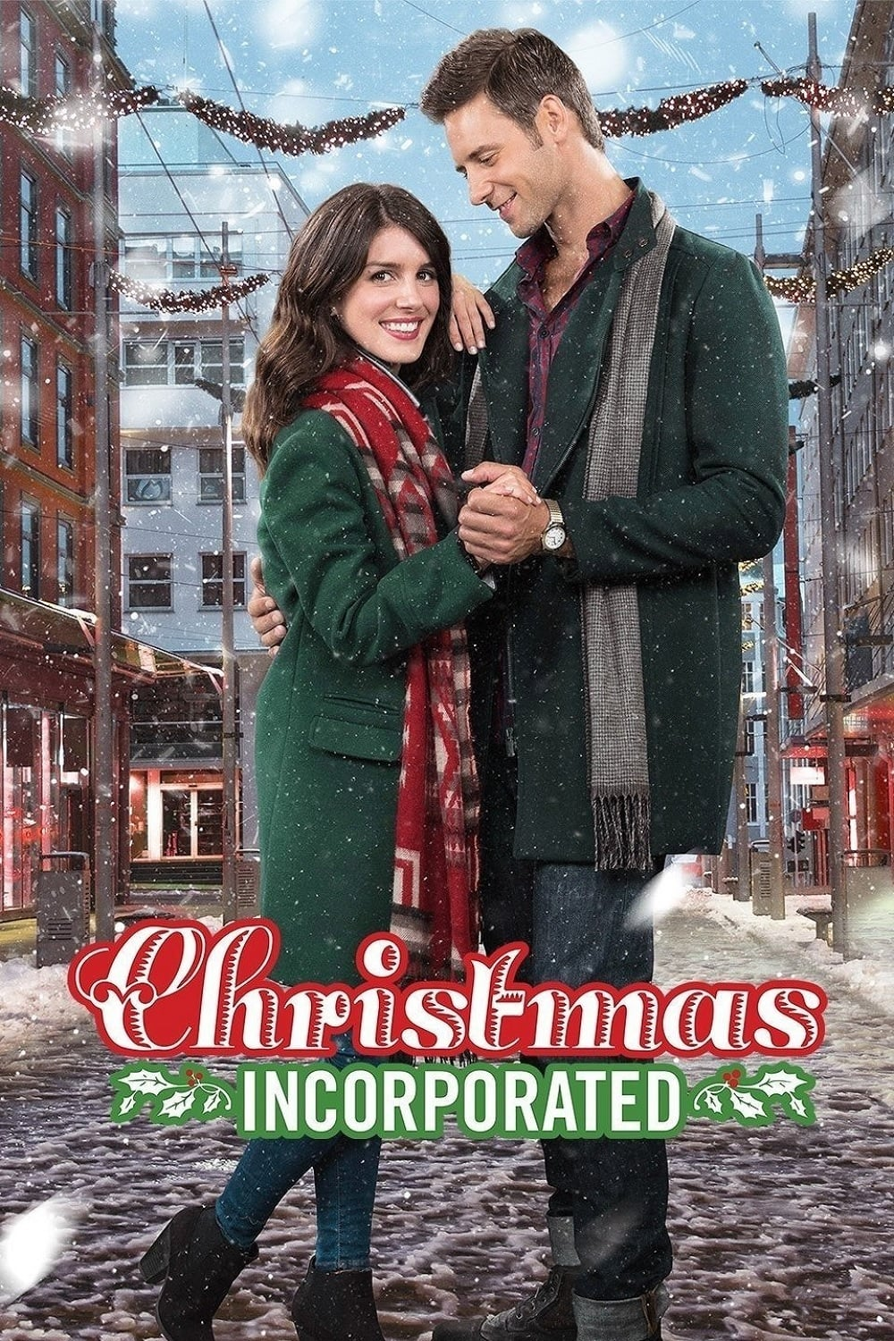 """Poster for the movie """"Christmas Incorporated"""""""