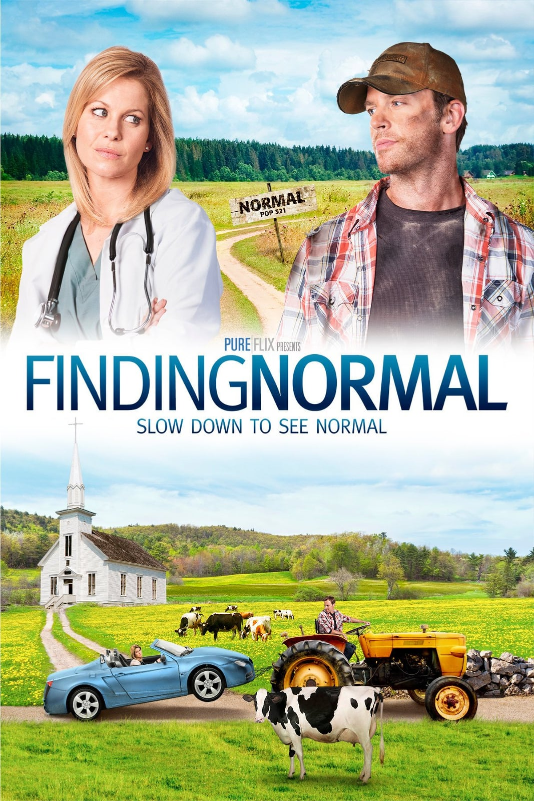 """Poster for the movie """"Finding Normal"""""""