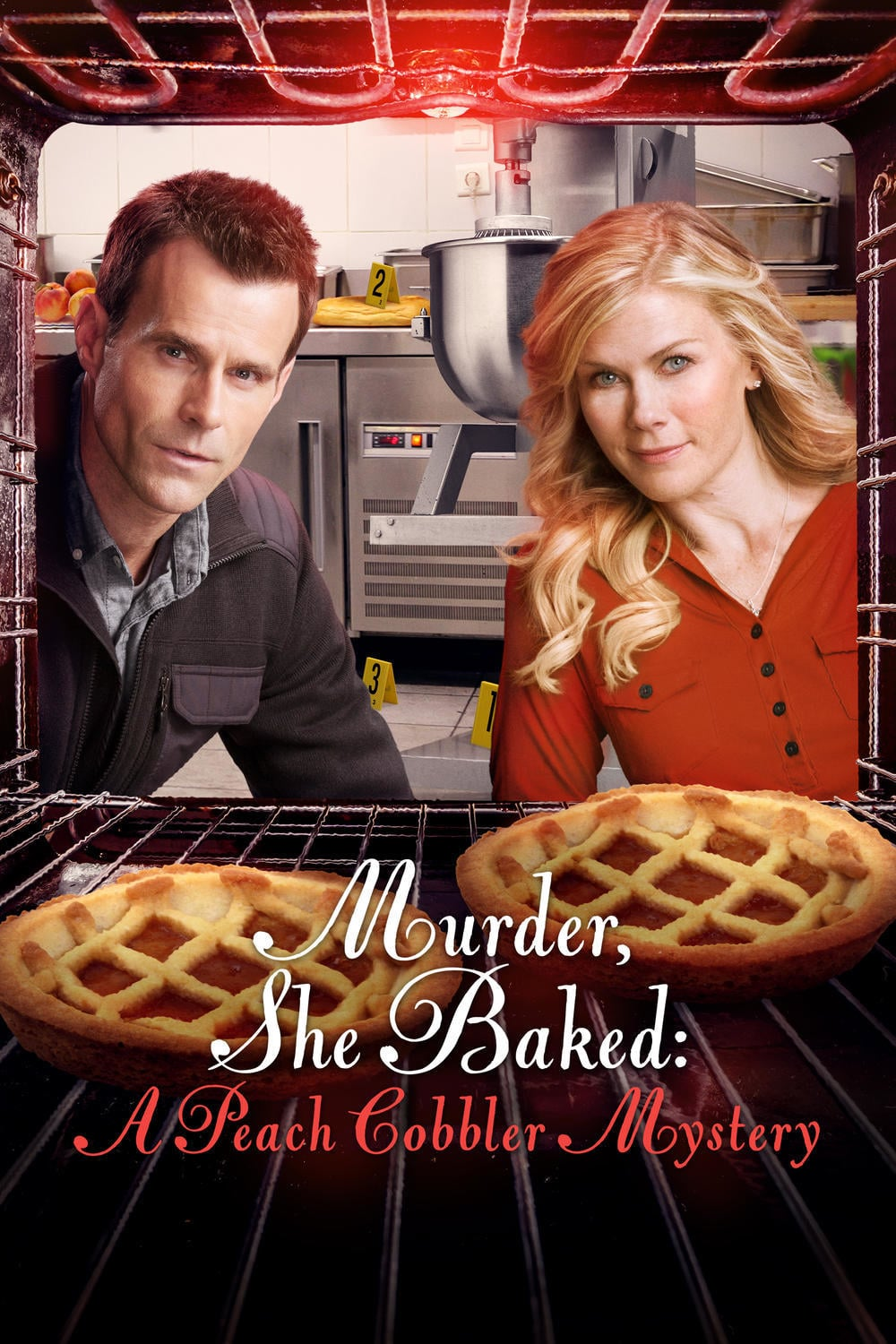 "Poster for the movie ""Murder, She Baked: A Peach Cobbler Mystery"""