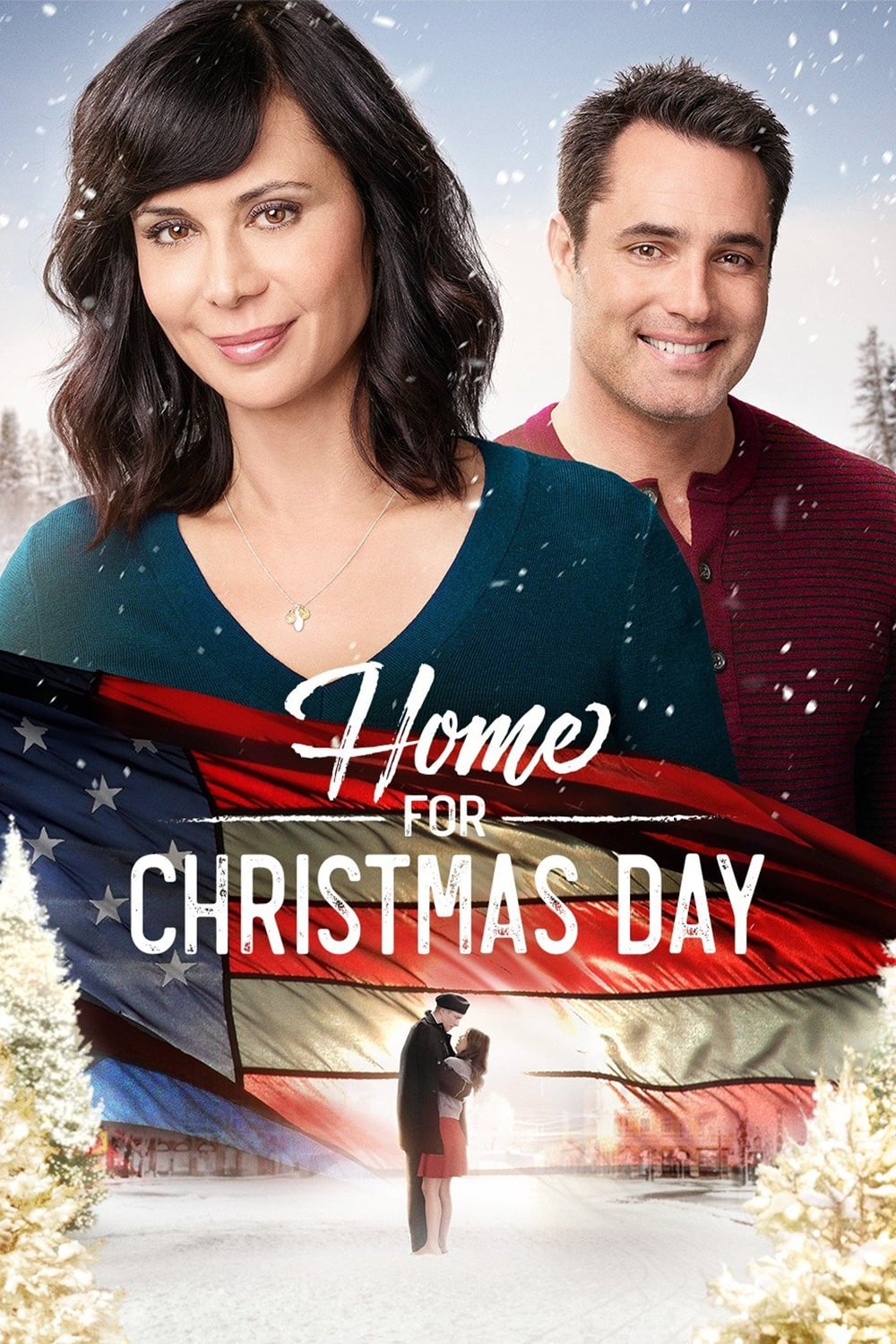 "Poster for the movie ""Home for Christmas Day"""