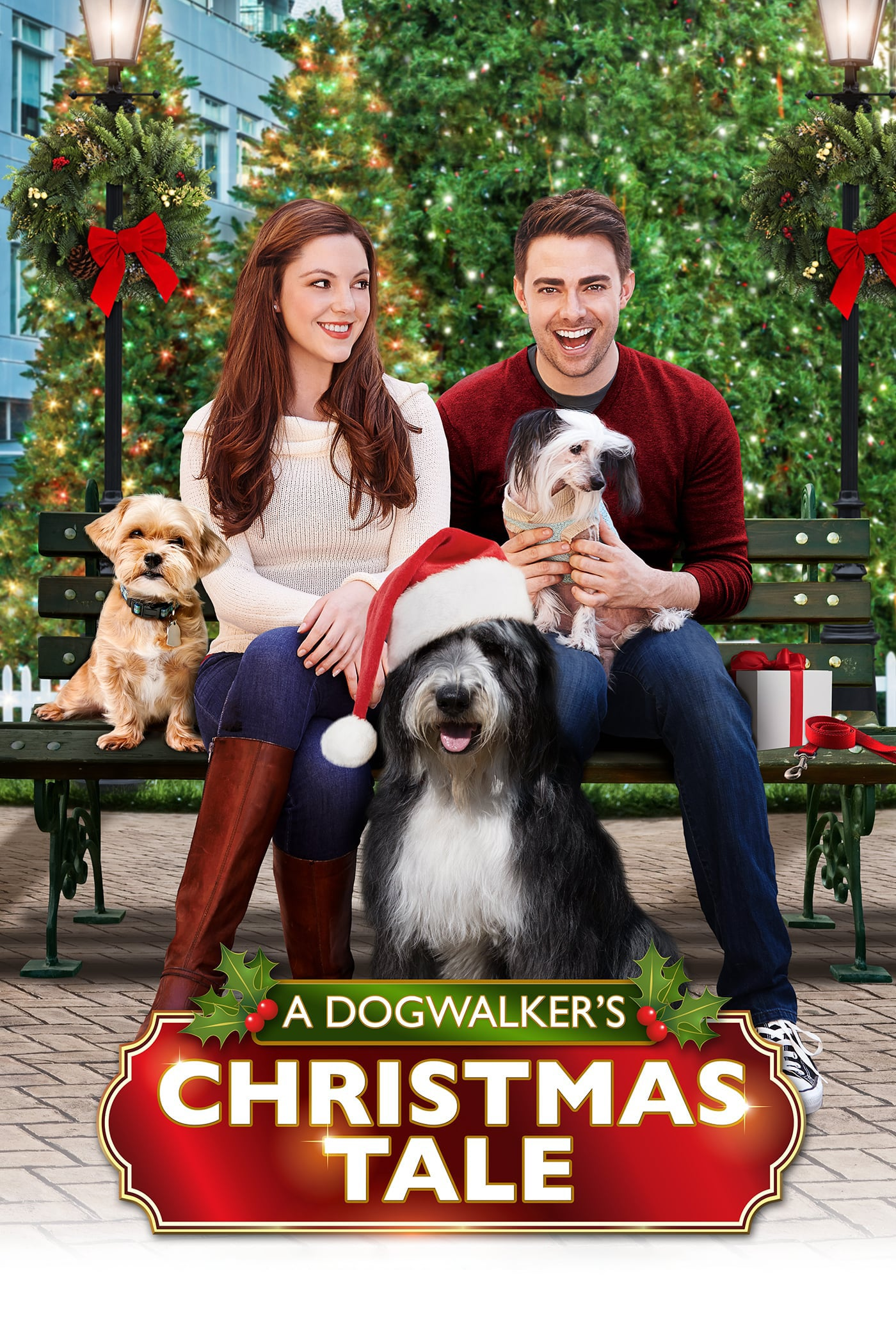 """Poster for the movie """"A Dogwalker's Christmas Tale"""""""