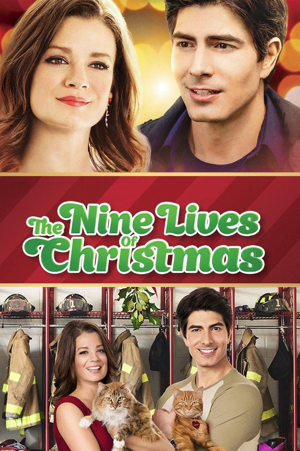 "Poster for the movie ""The Nine Lives of Christmas"""
