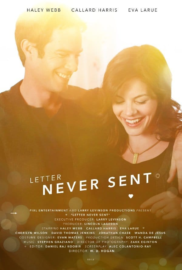 """Poster for the movie """"Letter Never Sent"""""""
